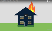 FEMA: Fire Safety - Have Two Ways Out